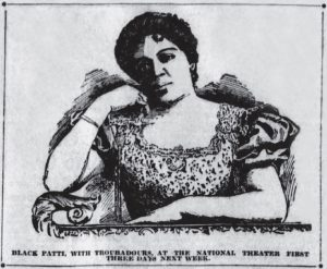 Sept. 10, 1904 Black Patti Troubadours. Dayton National Theater Ad in Dayton Daily News pg. 4.