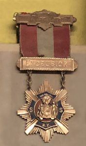 medal presented to Sissieretta Jones in 1892 at Carnegie. On loan to the Rose Museum at Carnegie Hall by the Moorland Spingarn Research Center, Howard University