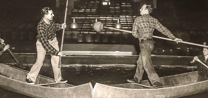 Canoe Tilting Contest
