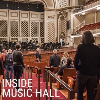 Indoor Tour of Music Hall