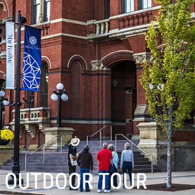 Ourdoor Walking Architectural/History Tour of Music Hall
