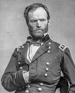 General William Tecumseh Sherman, photo by Mathew Brady