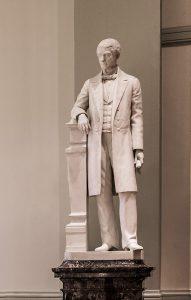 Reuben Springer Statue, South Foyer, Cincinnati Music Hall