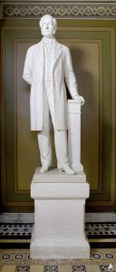 Preston Powers' sculpture of Vermont Senator Jacob Collamer