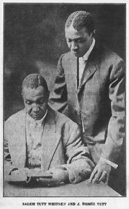 Salem Tutt Whitney (c.1869-1934) and J. Homer Tutt (1882-1951), The New York Age, June 21, 1917, p. 6
