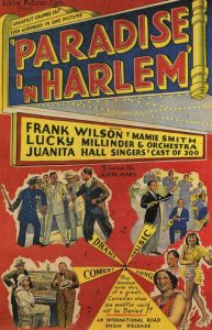 Paradise in Harlem, Jubilee Pictures Corp., movie poster