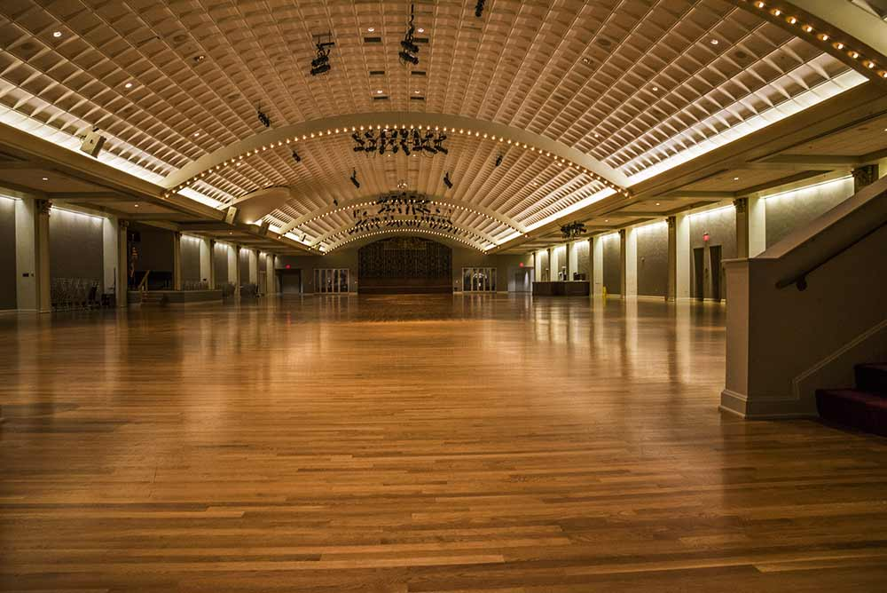 The Ballroom in Cincinnati Music Hall, August, 2018