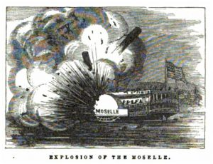 Explosion of the Moselle