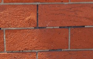 Vestiges of the original mortar remain