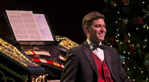 Mark Herman at the 2014 Happy Holidays with the Mighty Wurlitzer Concert