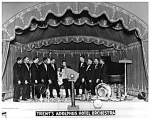 Alphonso Trent, Adolphus Hotel Orchestra, Alphonso Trent Collection, Fort Smith Museum of History