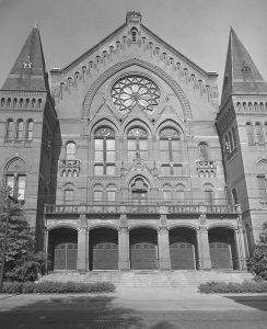 Cincinnati Music Hall, 1954, Friends of Music Hall Archive