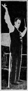Louis John Johnen conducting the U.C. Oratorio Society, Cincinnati Enquirer 12-17-1936