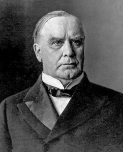 William McKinley, 1897-1901, 25th President of the U.S.