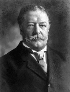 William Howard Taft, 1909-1913, 27th President of the U.S., credit Harris & Ewing