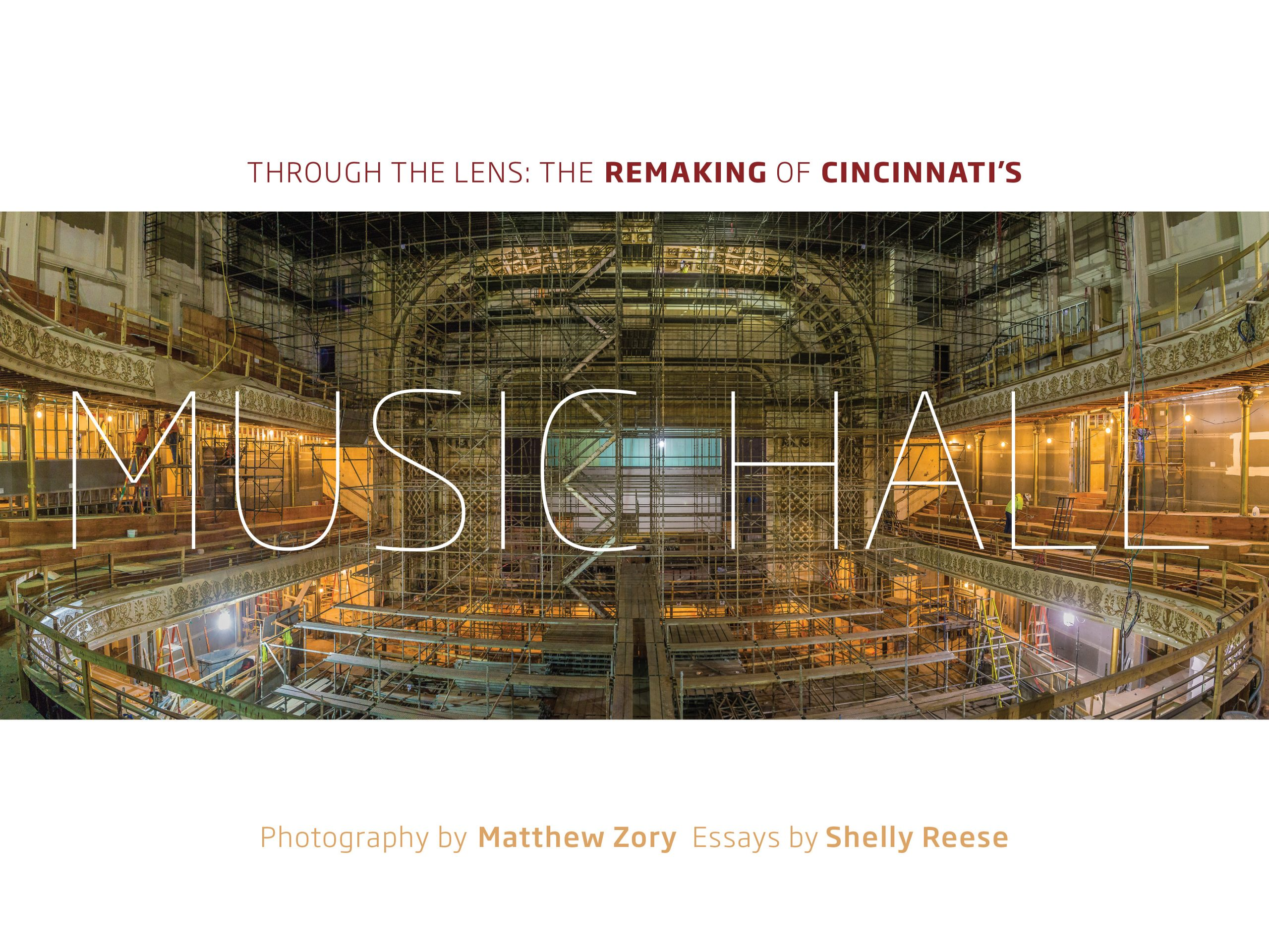 Through the Lens: The Remaking of Cincinnati's Music Hall by photographer and CSO musician Matthew Zory