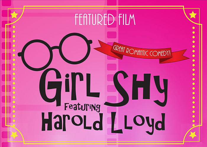 Silent Movies Made Musical: Girl Shy Featuring Harold Lloyd and the Mighty Wurlitzer Organ