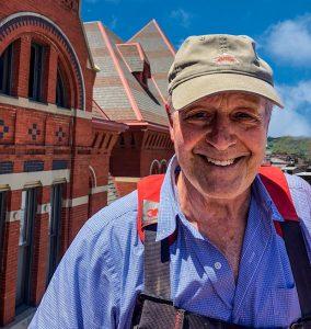 Ken Jones, Ken Jones & Associates. Architect, Music Hall Finial Restoration
