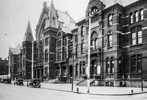 Music Hall circa 1920s