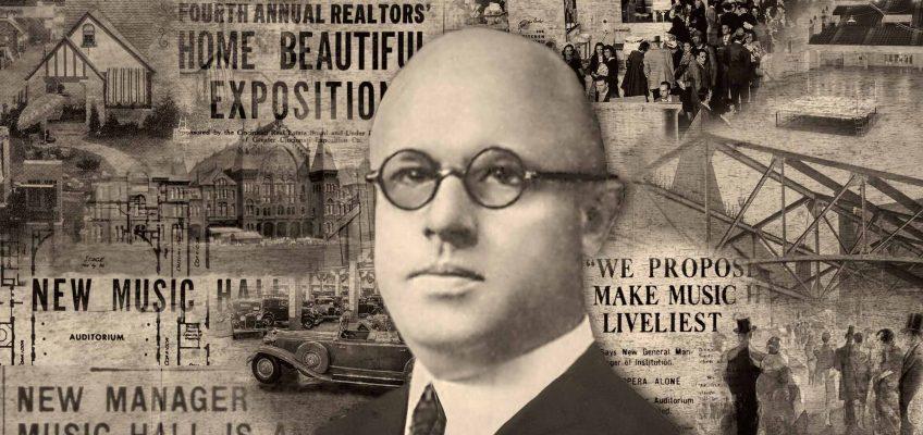 John J. Behle, General Manager, Cincinnati Music Hall, 1927-1936