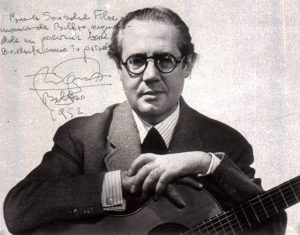 Andres Segovia, 1952