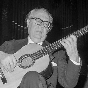 Andres Segovia, Concertgebow, 3 November 1962