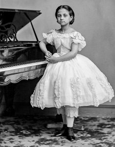Teresa Carreno, 8 years old