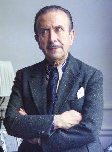 Claudio Arrau, at the Savoy Hotel, London, 1974. Photo by Allan Warren.