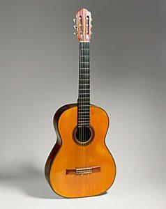 Segovia's guitar