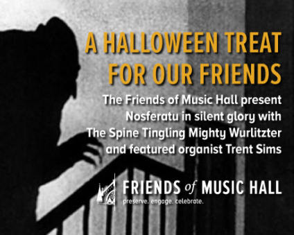 Join us for a virtual showing of this spooky classic!